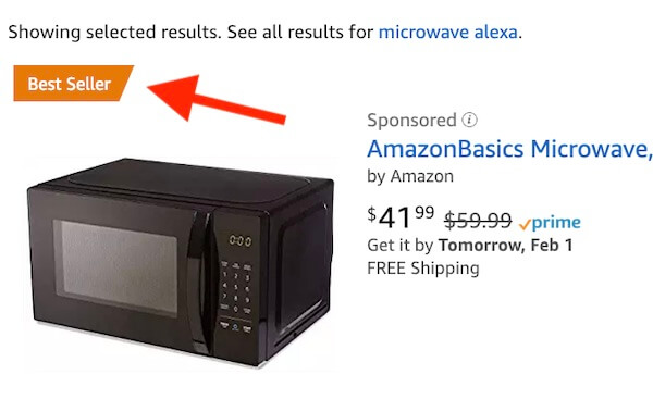 amazon alexa microonde