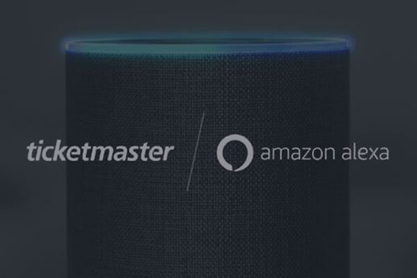 ticketmaster e Alexa